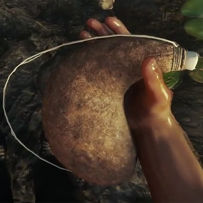 Head Tennis Bag >> Waterskin - Crafting Recipe - The Forest: Map